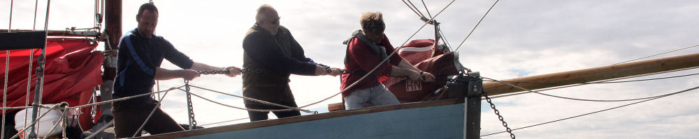 Weighing the anchor